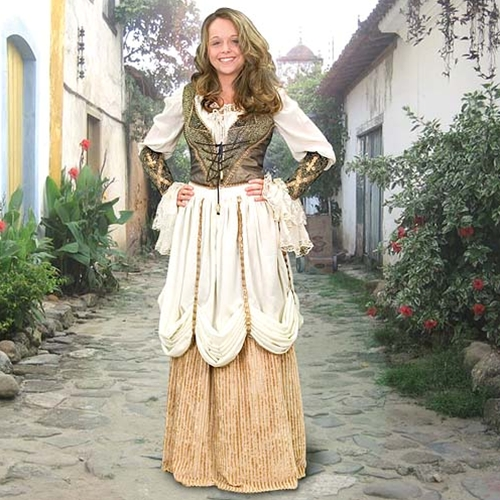 Royal Ball Gown - Womens Renaissance Dresses